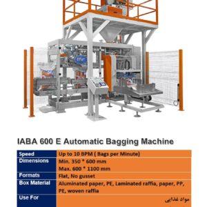 IABA 600 E Automatic Bagging Machine