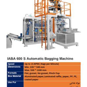 IABA 600 S Automatic Bagging Machine