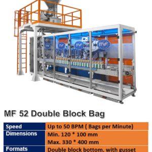 MF 52 DOUBLE BLOCK BAG